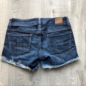 Blue Jean American Eagle Stretch Shorts - Size 0
